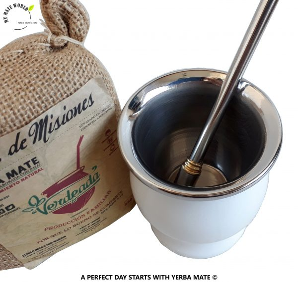 Stainless-Steel-Yerba-Mate-Cup-Bombilla-White